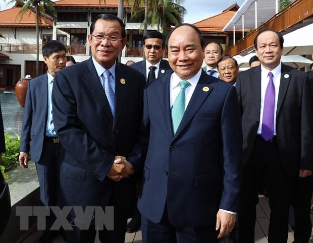 Thu tuong Campuchia danh gia cao Viet Nam dang cai to chuc APEC 2017 hinh anh 1