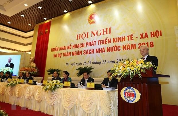 Tong Bi thu: Phat trien nhanh va ben vung hon, khong de tut hau hinh anh 2