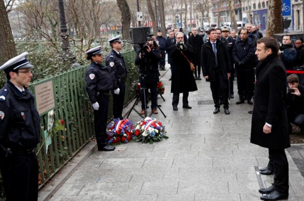 Tuong niem 3 nam vu tan cong dam mau tap chi Charlie Hebdo hinh anh 1