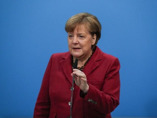 Thu tuong Duc Merkel hoan nghenh thoa thuan 'dai lien minh' moi hinh anh 1