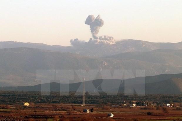 Syria: Tan cong tai khu vuc phe noi day khien nhieu nguoi thiet mang hinh anh 1