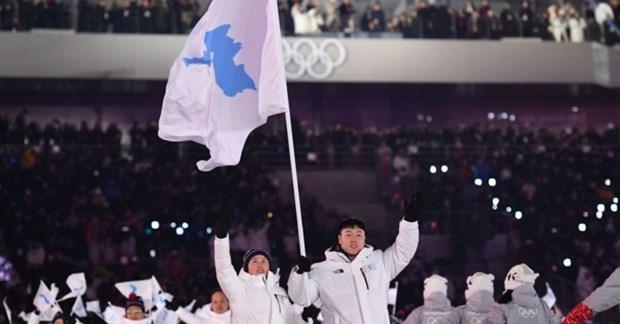 Olympic PyeongChang 2018: Lich su la co thong nhat Trieu Tien hinh anh 1