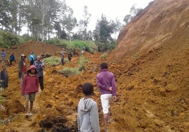 Papua New Guinea ban bo tinh trang khan cap sau tran dong dat manh hinh anh 1