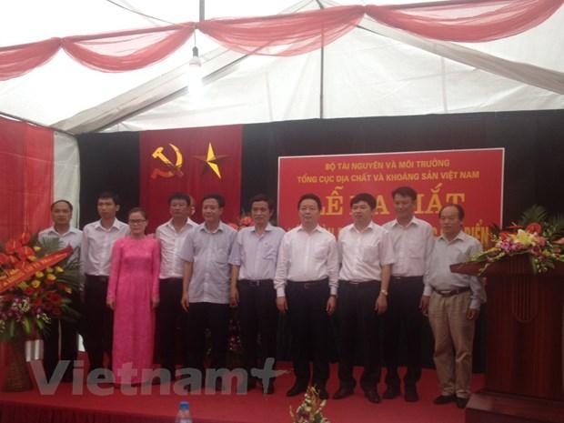 Bo Tai nguyen va Moi truong ra mat Lien doan Dia chat Khoang san Bien hinh anh 1