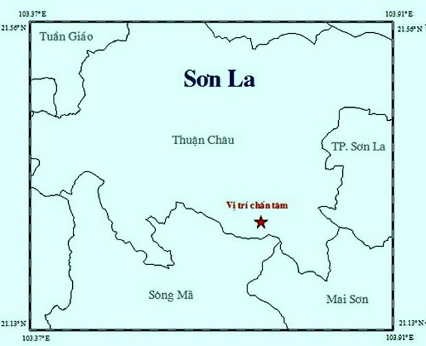 Lien tiep xay ra hai tran dong dat tai cac tinh Quang Nam va Son La hinh anh 2