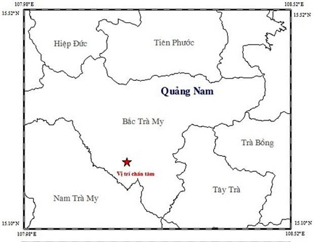 Lien tiep xay ra hai tran dong dat tai cac tinh Quang Nam va Son La hinh anh 1