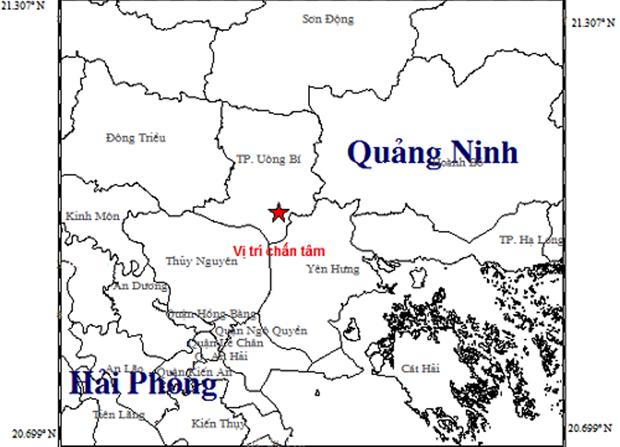 Dong dat cuong do 3,2 lam rung chuyen nha dan o tinh Quang Ninh hinh anh 1