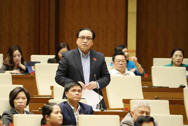Bo Hoi dong Nhan dan phuong: Can than trong vi ''dung'' Hien phap hinh anh 3