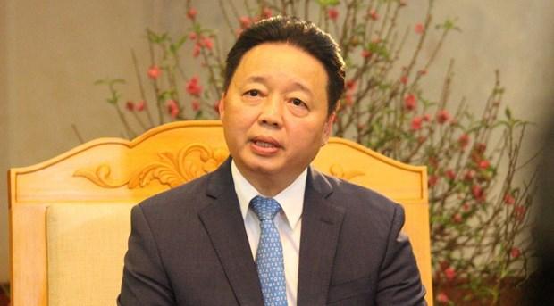 """Bo truong Tran Hong Ha: """"Da xac dinh duoc huong di bao ve moi truong"""" hinh anh 1"""