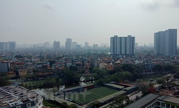 Ha Noi van la do thi co muc do o nhiem bui min PM2.5 cao nhat hinh anh 3
