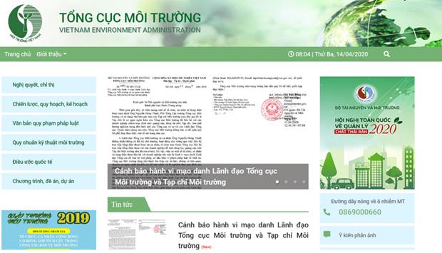 Canh bao mao danh lanh dao Tong cuc Moi truong de truc loi trai phep hinh anh 1