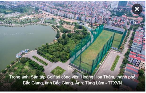 Hang loat sai pham tai du an san tap golf, cong vien Hoang Hoa Tham hinh anh 2