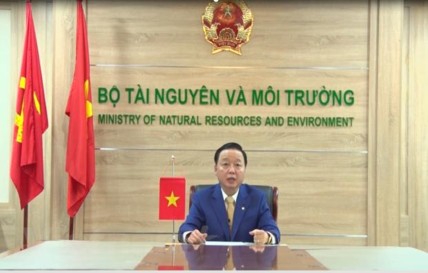 Bo truong Tran Hong Ha: Viet Nam dang tien toi mo hinh kinh te xanh hinh anh 1
