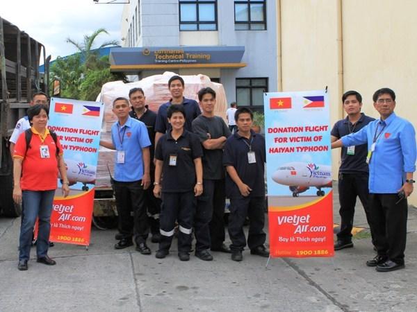VietjetAir cho nguoi Viet o Philippines ve nuoc sau bao hinh anh 1