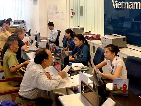Vietnam Airlines: Nhieu ke ho trong viec ban ve bay hinh anh 1