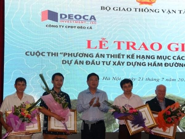 Cong ty Phap dat giai nhat thiet ke kien truc ham duong bo Deo Ca hinh anh 1