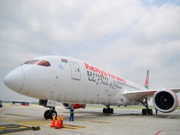 Kien nghi cho Kenya Airways khai thac chang Ha Noi-Quang Chau hinh anh 1