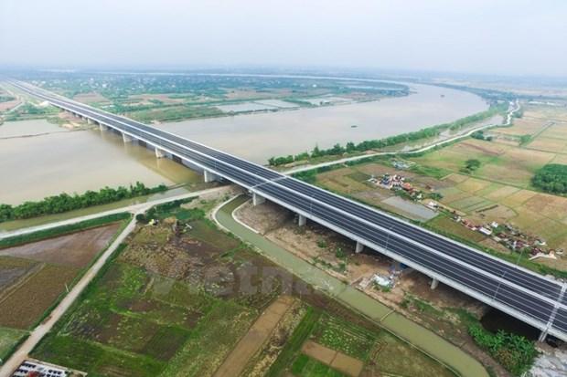 Cao toc Ha Noi-Hai Phong: Can tang hinh va 12 camera kiem soat toc do hinh anh 1