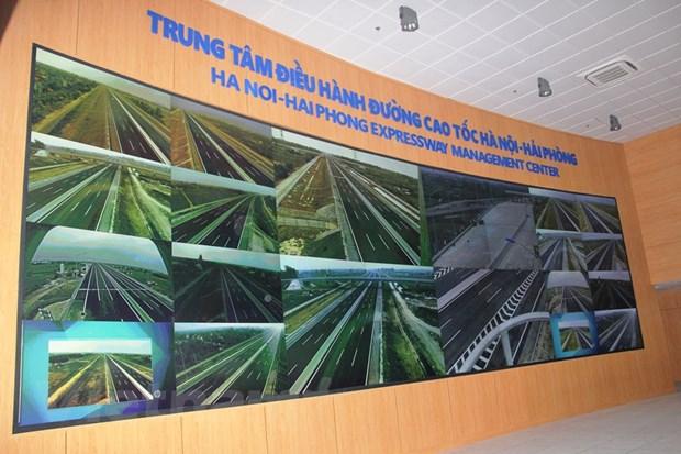 Cao toc Ha Noi-Hai Phong: Can tang hinh va 12 camera kiem soat toc do hinh anh 2