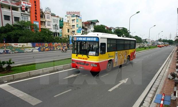Sap mo tuyen xe buyt chat luong cao Ga Ha Noi-san bay Noi Bai hinh anh 2