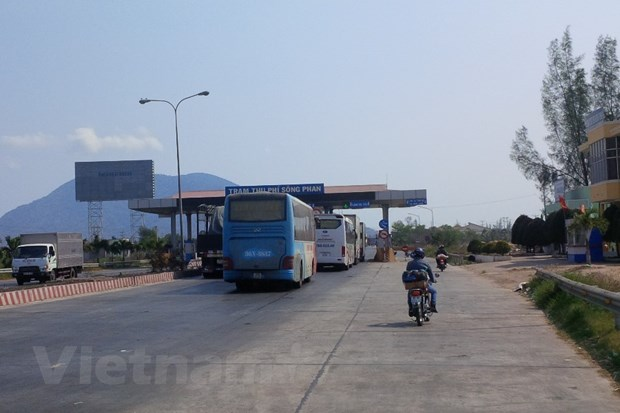 Thu phi tro lai tram BOT Quoc lo 1 doan Phan Thiet -Dong Nai hinh anh 1
