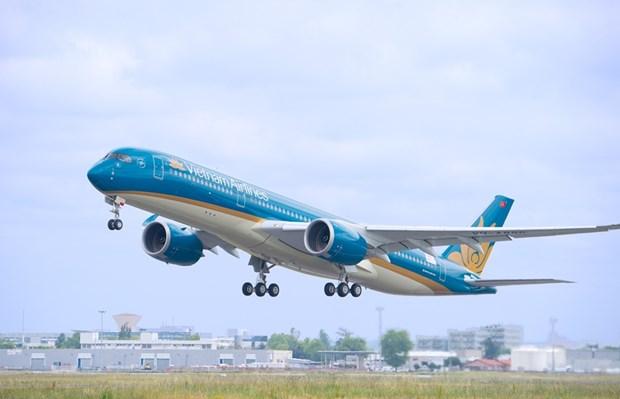 Vietnam Airlines bay truc Ha Noi-TP.HCM tan suat 30 phut/chuyen hinh anh 1