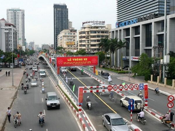 Ha Noi: Thong xe cau vuot O Dong Mac-Nguyen Khoai vao ngay 26/12 hinh anh 1