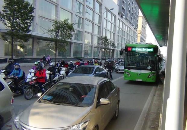 Su menh xe buyt nhanh BRT va bai test van hoa giao thong Ha Noi hinh anh 1