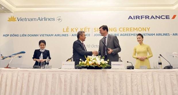 Vietnam Airlines 'bat tay' hop tac lien doanh voi hang khong Phap hinh anh 1