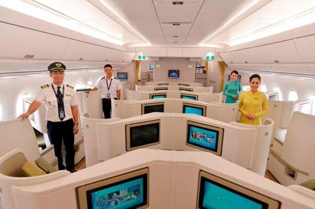 Chin diem dac biet ve 9 chiec may bay A350 cua Vietnam Airlines hinh anh 5