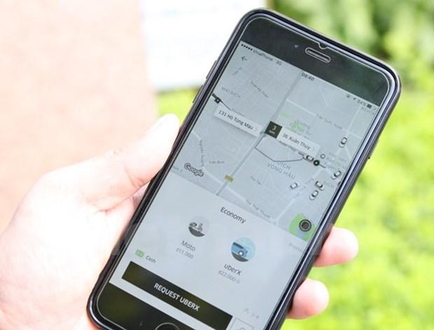 'Con bao' Uber, Grab: Hinh hai xe taxi hay chi ket noi cong nghe? hinh anh 1