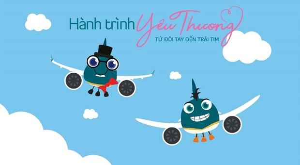 Nhung phi cong nhi trong Hanh trinh yeu thuong cua Vietnam Airlines hinh anh 2