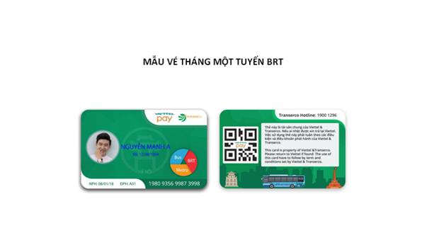 Ha Noi: Tu 1/10 trien khai ve dien tu phuc vu hanh khach di xe BRT hinh anh 2