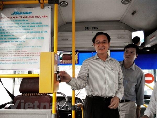 Ha Noi: Tu 1/10 trien khai ve dien tu phuc vu hanh khach di xe BRT hinh anh 1