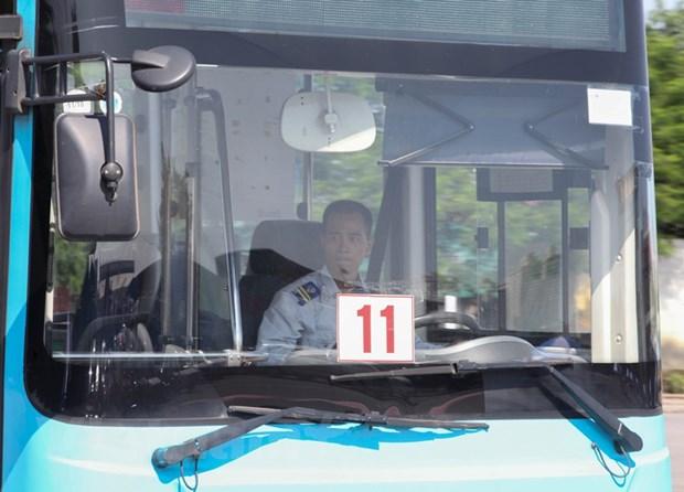 Tram tro tai xe xe buyt trinh dien 'ky nghe' lai xe gioi, an toan hinh anh 6