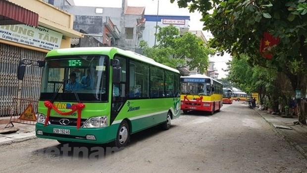 Ha Noi se thi diem minibus va xe buyt su dung nang luong sach hinh anh 1