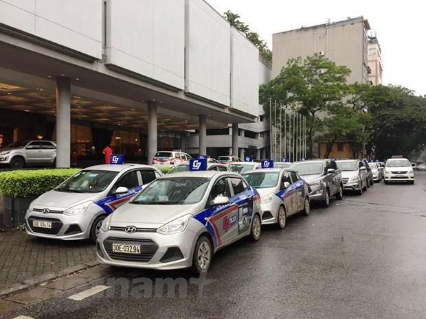 Ra mat thuong hieu taxi lon nhat Ha Noi, canh tranh 'ga khong lo' Grab hinh anh 1