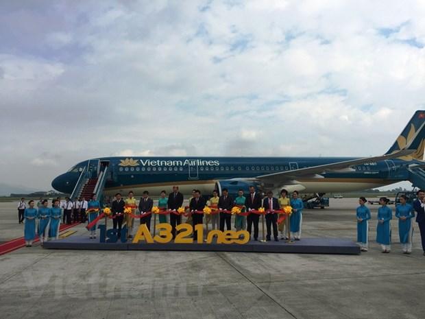 Vietnam Airlines don nhan them 'doi canh moi' vua cap ben Noi Bai hinh anh 1
