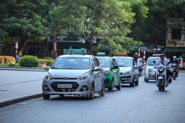 Taxi Ha Noi duoc phan vung hoat dong, mau son va chung tong dai hinh anh 1
