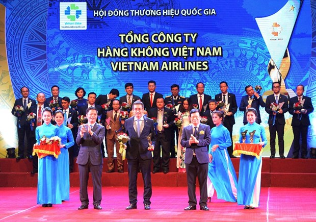 Vietnam Airlines duoc vinh danh Thuong hieu Quoc gia nam 2018 hinh anh 1