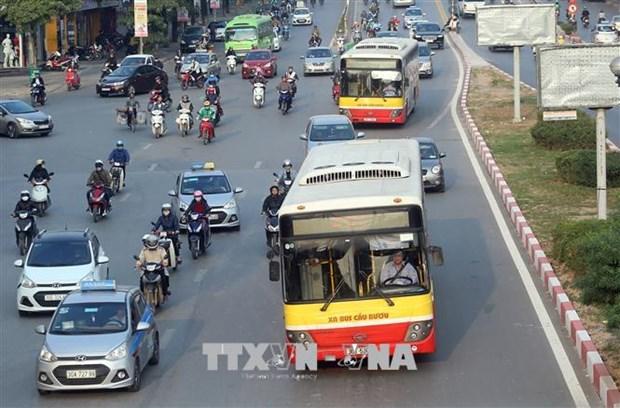 Ha Noi mo rong mang luoi ve xe buyt dien tu, toi uu hoa luong tuyen hinh anh 1