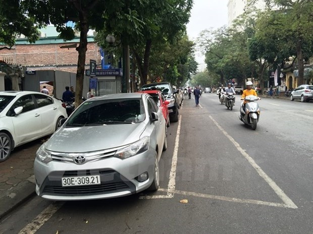 Thuong dinh My-Trieu: Nhieu tuyen pho tam thoi khong trong giu xe hinh anh 1