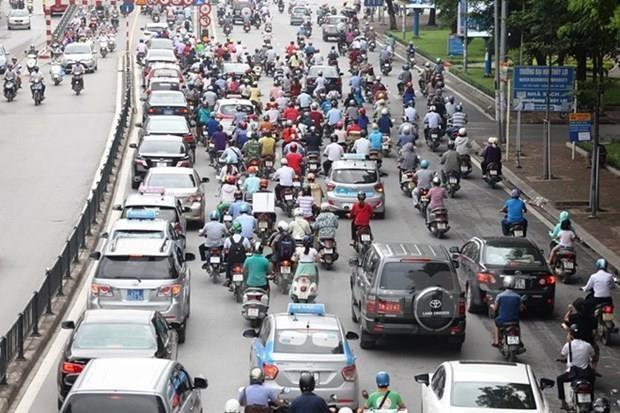 Bo Giao thong Van tai ung ho de an cam xe may tai Ha Noi, TP.HCM hinh anh 1