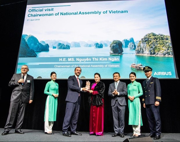 Vietnam Airlines nhan sieu may bay than rong Airbus A350 cuoi cung hinh anh 1
