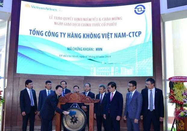 Vietnam Airlines chinh thuc giao dich 1,4 ty co phieu tren san HOSE hinh anh 1