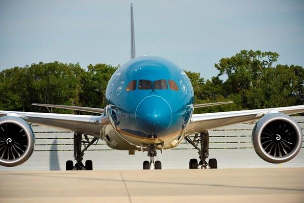 Cho don sieu may bay Boeing 787-10 dau tien sap ha canh Noi Bai hinh anh 2