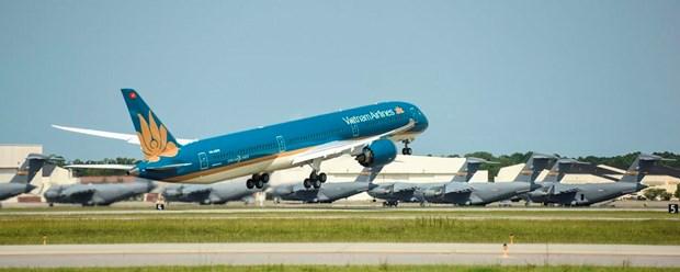 Cho don sieu may bay Boeing 787-10 dau tien sap ha canh Noi Bai hinh anh 3