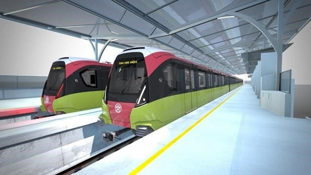 Tau metro Nhon-ga Ha Noi se chay voi toc do trung binh 35km moi gio hinh anh 1