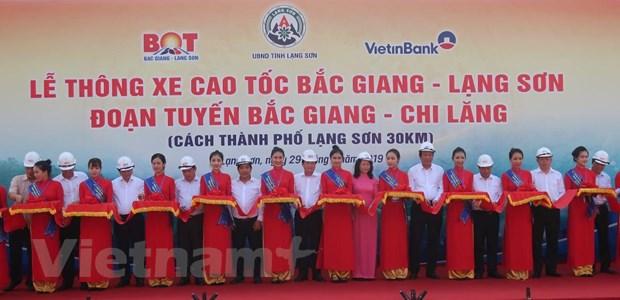 Pho Thu tuong phat lenh thong xe ky thuat cao toc Bac Giang-Lang Son hinh anh 1