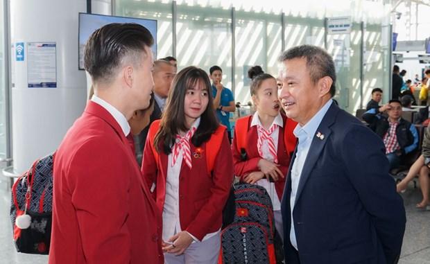 Vietnam Airlines to chuc chuyen bay rieng dua doan TTVN du SEA Games hinh anh 1